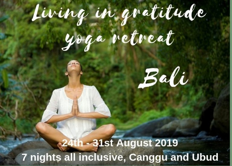 Living in gratitude yoga retreat
